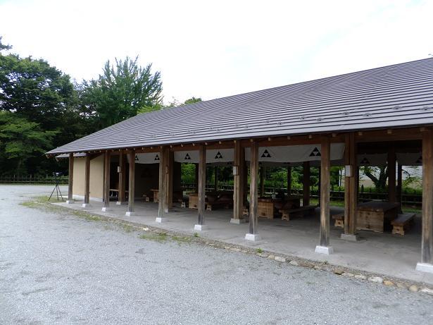 鉢形城休憩所1