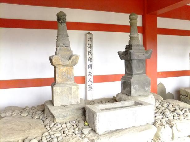 氏邦夫妻墓