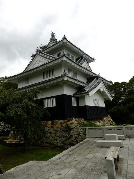 吉田城の再建櫓