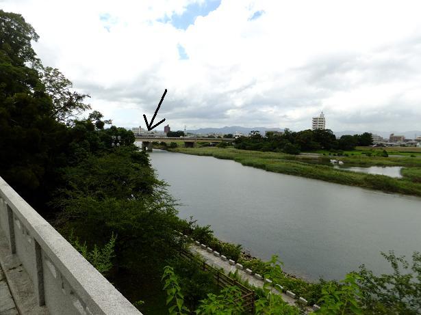 吉田城からの眺望