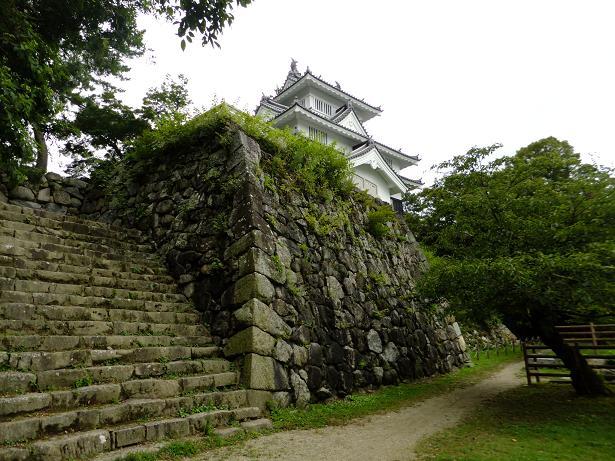 吉田城石垣と櫓