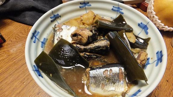 秋刀魚有馬煮