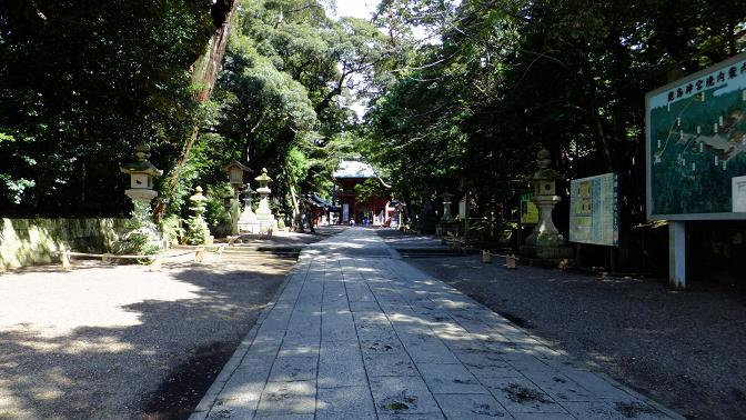 鹿島神宮参道