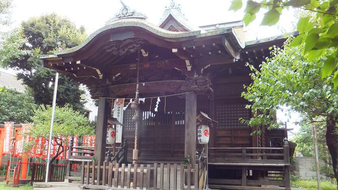 大森日枝神社拝殿