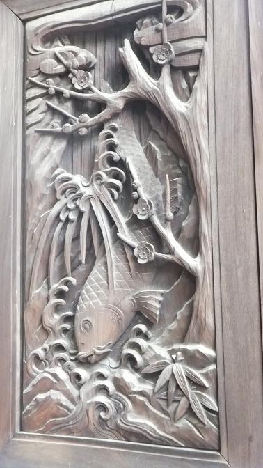大森日枝神社彫刻1