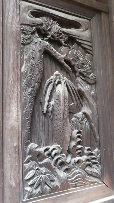 大森日枝神社彫刻2