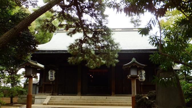 鹿嶋神社拝殿