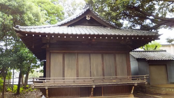 鹿嶋の神楽殿