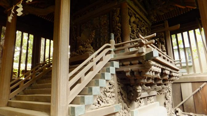 旧本殿彫刻1