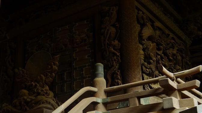 旧本殿彫刻2