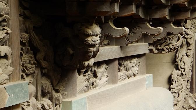 旧本殿彫刻3