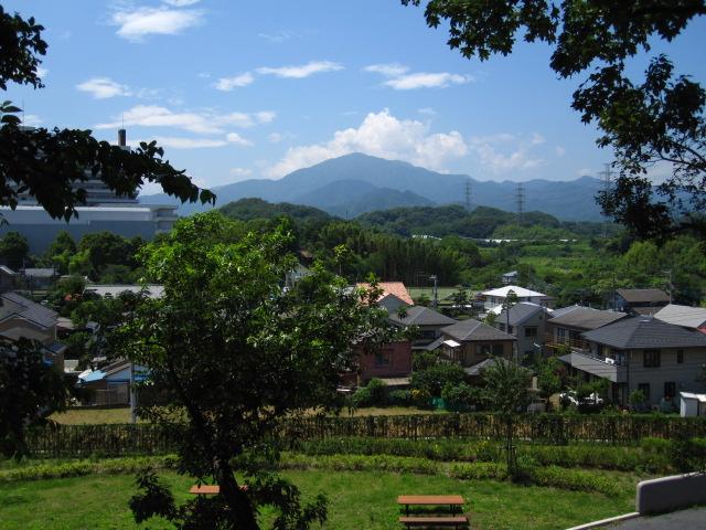 丸山からの大山