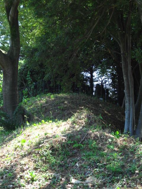 丸山の土塁2
