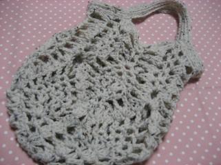 編み編みバッグ1