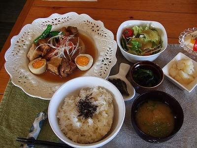 冬野菜と鶏肉煮
