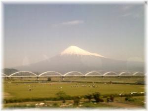 4月30日の富士山①