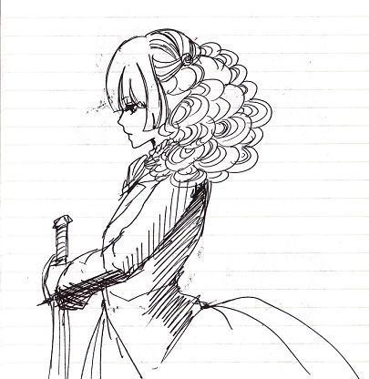 ローザ横顔