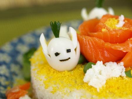 寿司ケーキ試作20