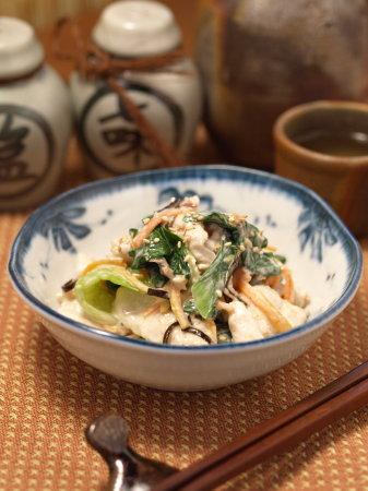 鶏胸肉と青梗菜のコクマヨ和02