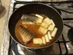 鯖と豆腐の辛味噌煮12