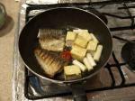 鯖と豆腐の辛味噌煮10