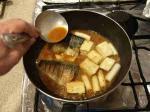 鯖と豆腐の辛味噌煮14