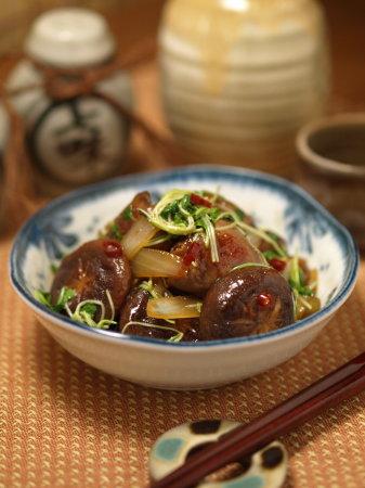 鶏レバーと椎茸の炒め南蛮02