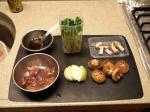 鶏レバーとしいたけの炒め南蛮2