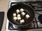 大根葉と豆腐のベーコン炒め4