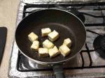 大根葉と豆腐のベーコン炒め5