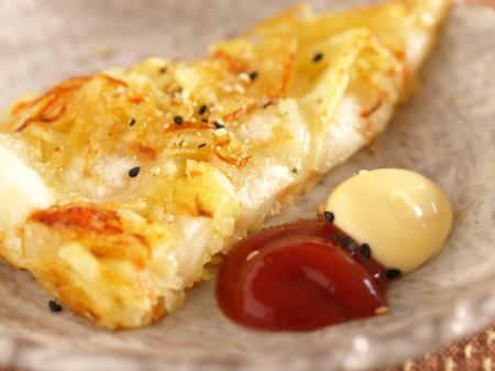 じゃがいもと餅のチーズお焼c02