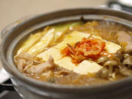 キムチ豆腐鍋a01