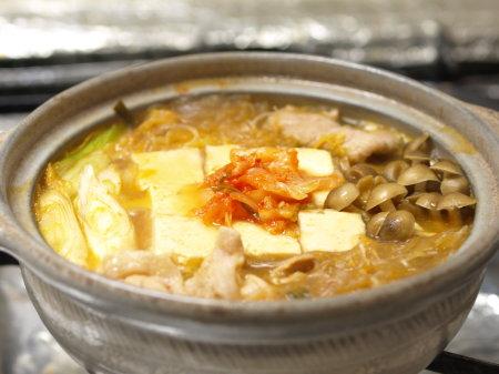 キムチ豆腐鍋a03