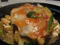 )カニの土鍋焼(小
