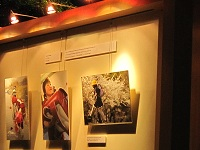 IFC内で東日本震災の写真展
