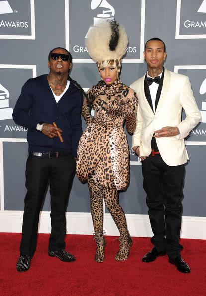 Lil-Wayne-Christian-Louboutin-Loafers-Louis-Vuitton-Tyga-Hermes-belt-Nicki-Minaj.jpg