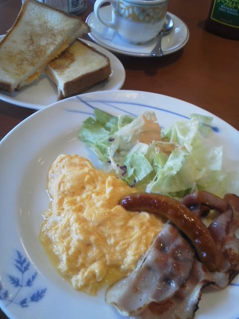 デニーズの朝飯