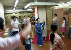そう踊り練習2