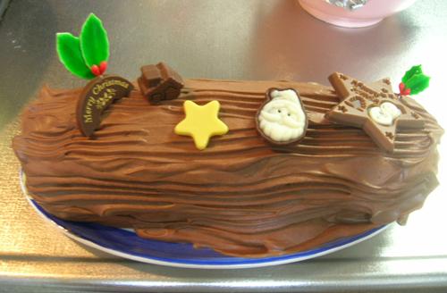 去年のケーキ
