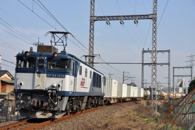 76レ EF64 1038