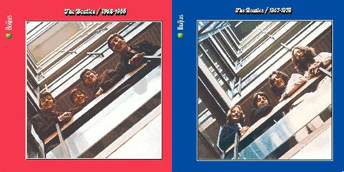 Beatles赤盤・青盤