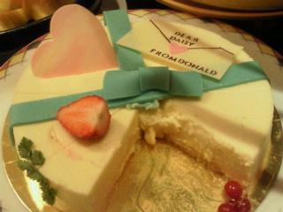 シェフドナ☆デイジーへのケーキ