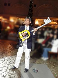 イベント02:マスター・ハシモト(どや顔)
