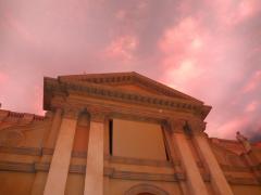 教会広場03:黄昏時