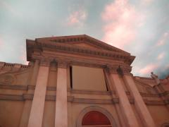 教会広場02:夕