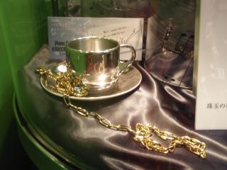 ピアコレKH用のマグカップ、鍵、下村氏メッセージ