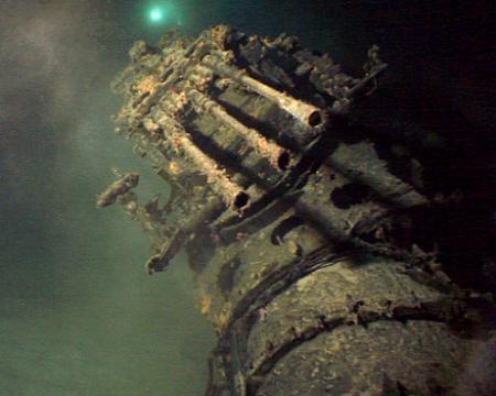 海底に眠る旧日本軍潜水艦:伊401(ナショナルジオグラフィック 公式日本語サイト)