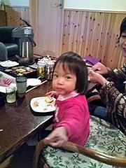 09'綾のぐんじぃ&やっこばぁのお家でお食事会♪
