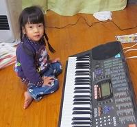 電子ピアノのプレゼント♪