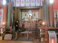 宮崎県高千穂町天の岩戸神社西宮本殿